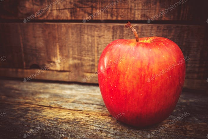 Tasteful Red Apple