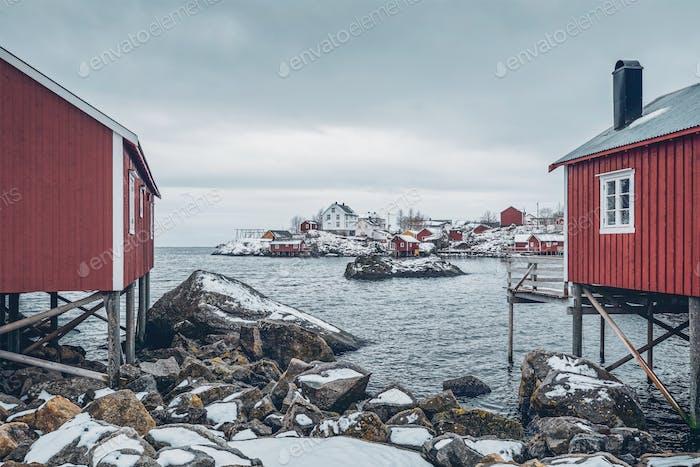 Nusfjord  fishing village in Norwa