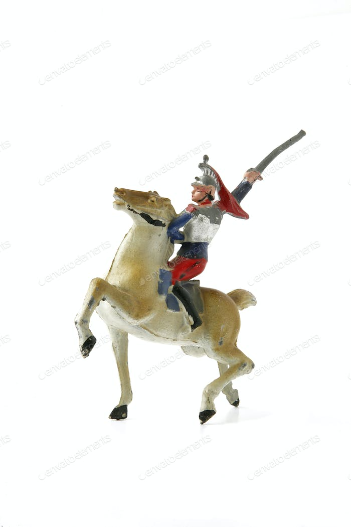 Figurine of cavalier