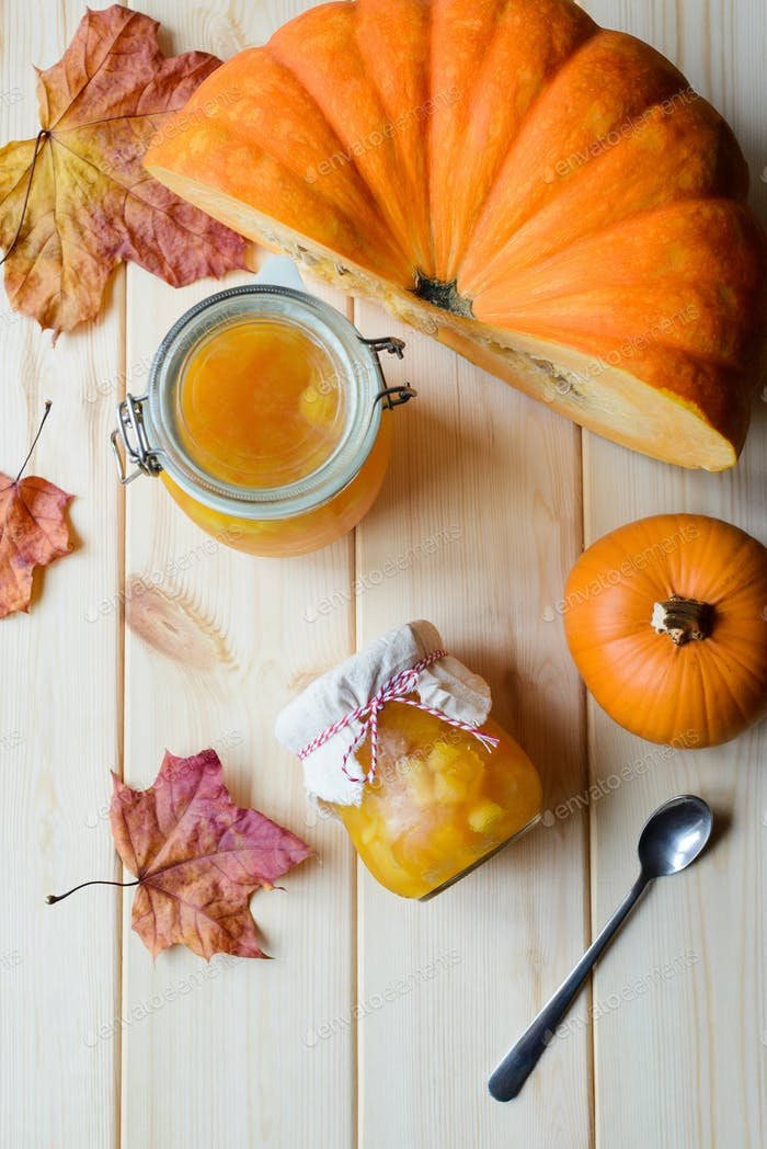 homemade pumpkin jam