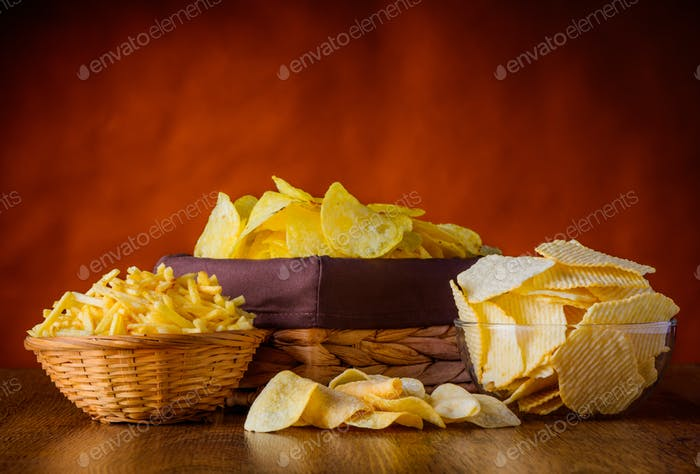Potao Chips and sticks