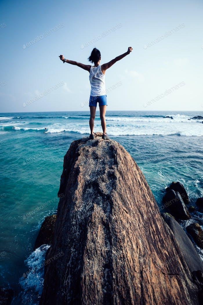Freedom at seaside