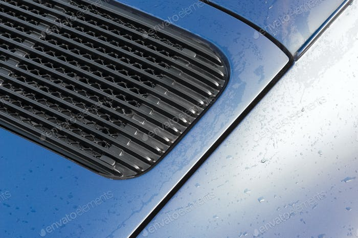 vehicle panel raindrops