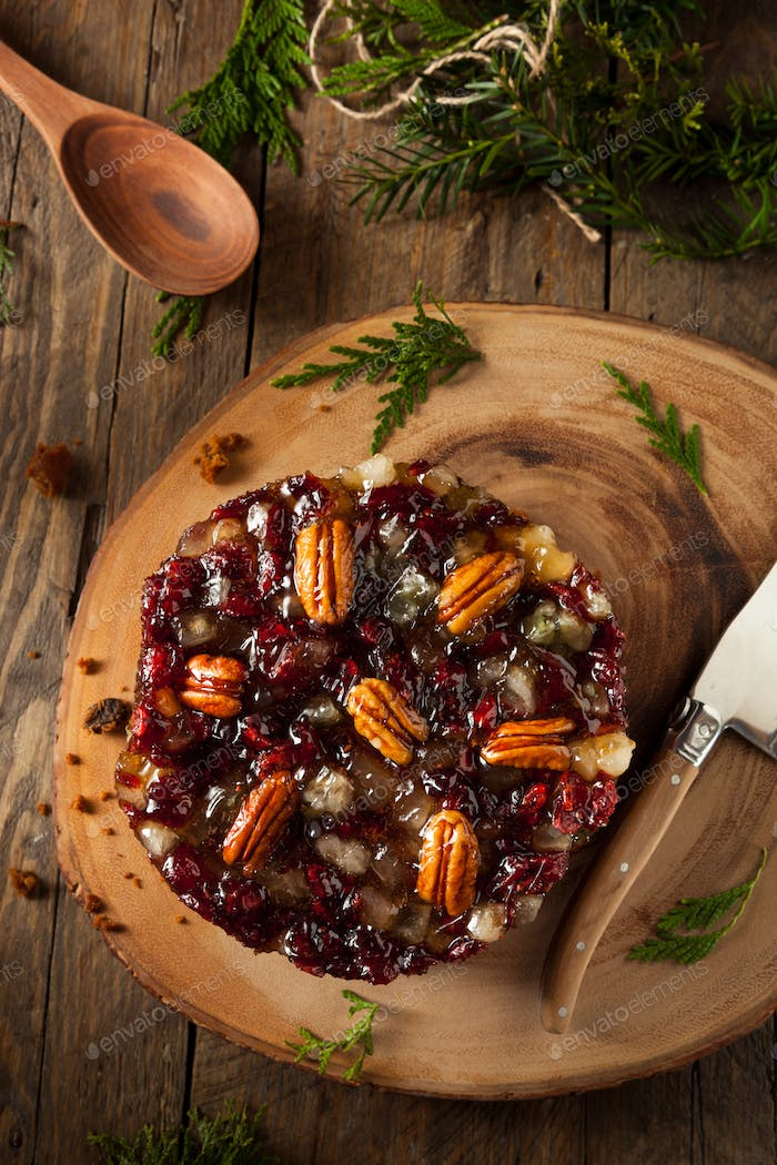 Festive Holiday Fruit Cake