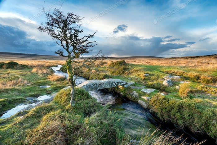 Dartmoor Clapper Bridge