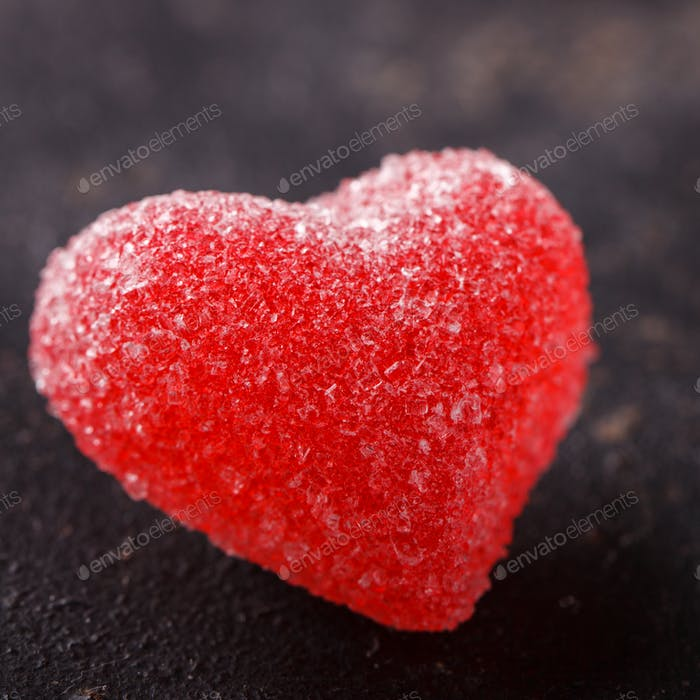 Heart shape. Valentines Day concept. Holiday symbol.
