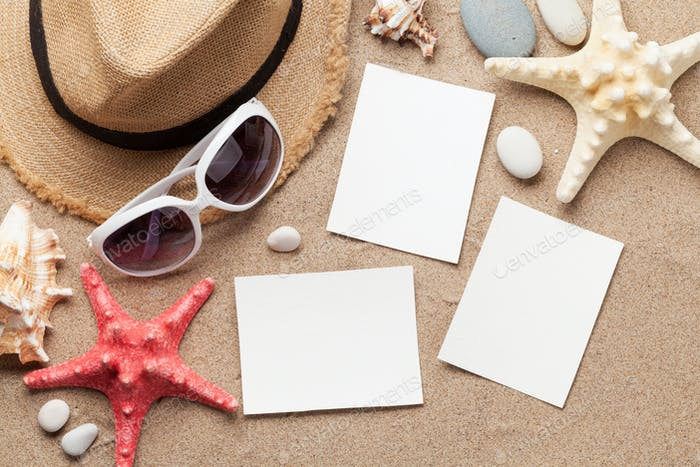 Travel vacation accessories and photo frames
