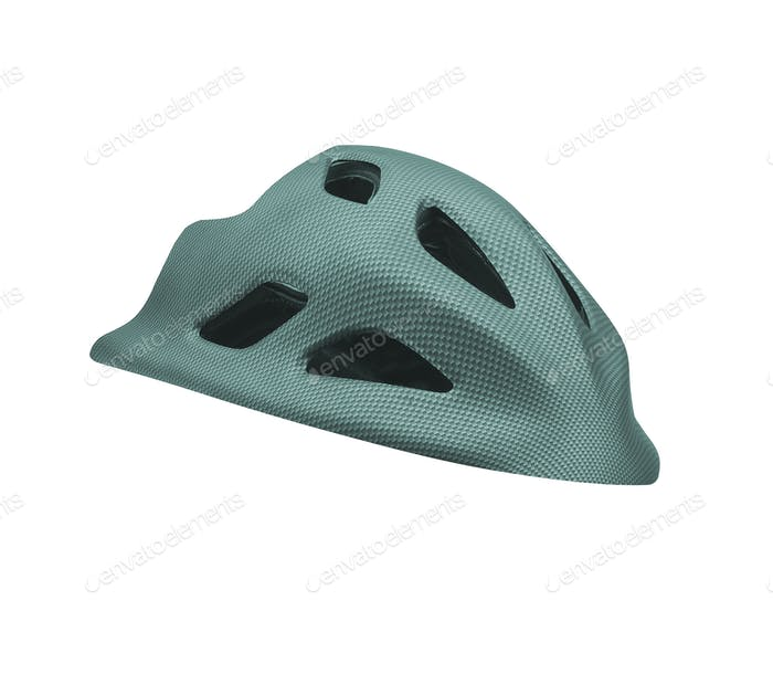 helmet for byciclist isolated