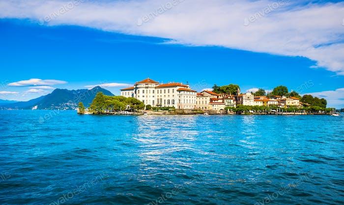 Isola Bella island in Maggiore lake, Borromean Islands, Stresa P