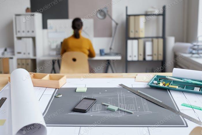Architects Desk Background