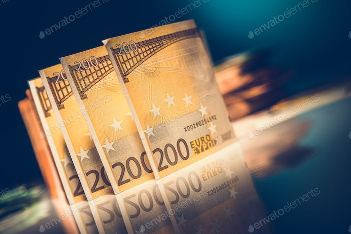 Euro banknotes on glassy table 5f9ac85d80ad2