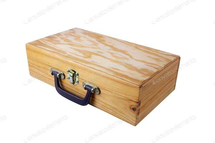 Old wooden case