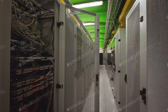 Ansicht des Rack-Servers