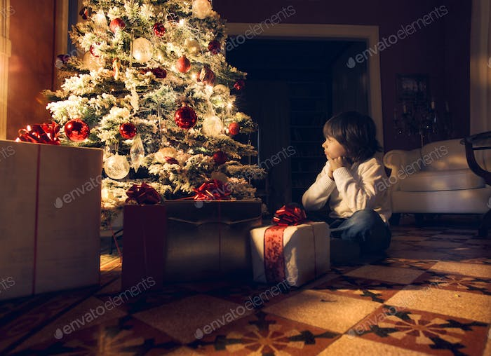 Waiting Santa Claus