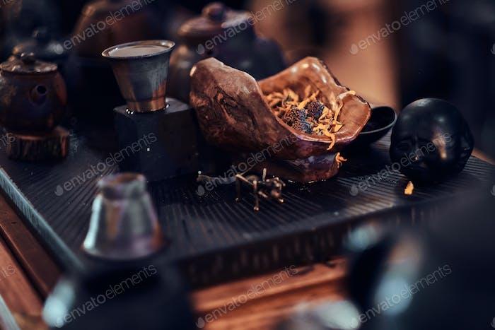 Набор аксессуаров, все для приготовления натурального вкусного ароматного чая