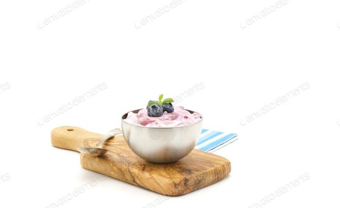 Blueberry Greek Yogurt
