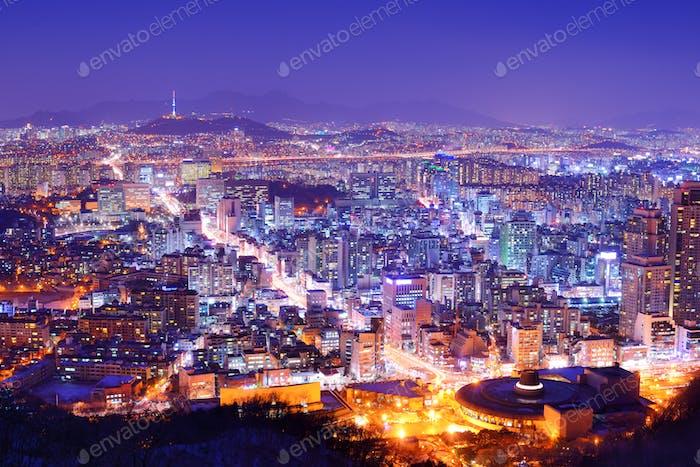 City of Seoul Korea