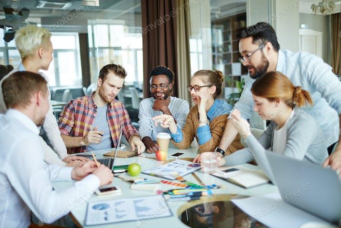 Briefing of designers