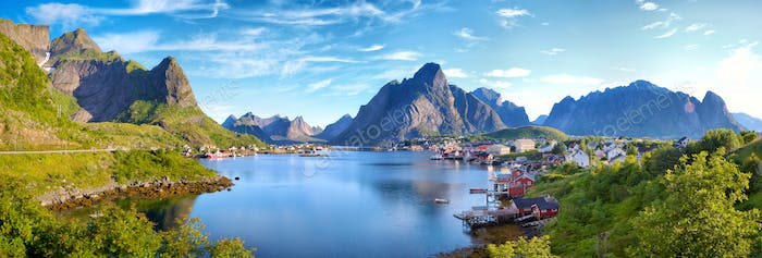 Reine Village in Lofoten Islands
