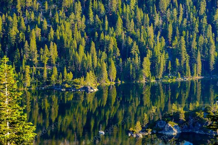 Lake Tahoe landscape - California, USA