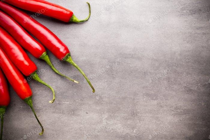 Chilli pepper.