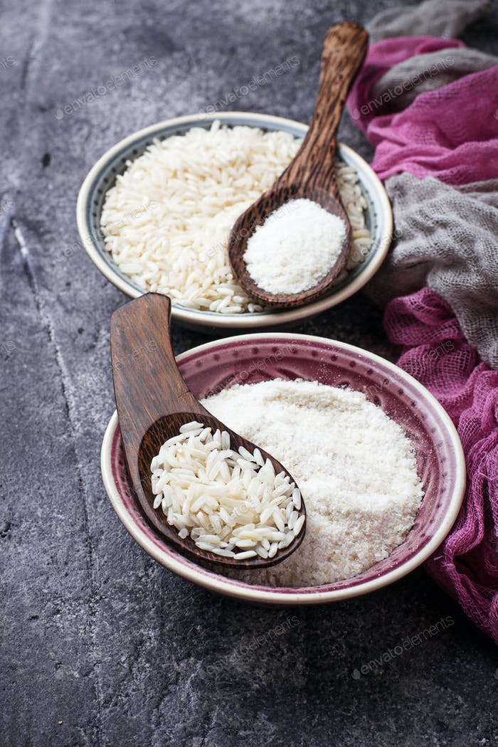Glutenfreies Reismehl