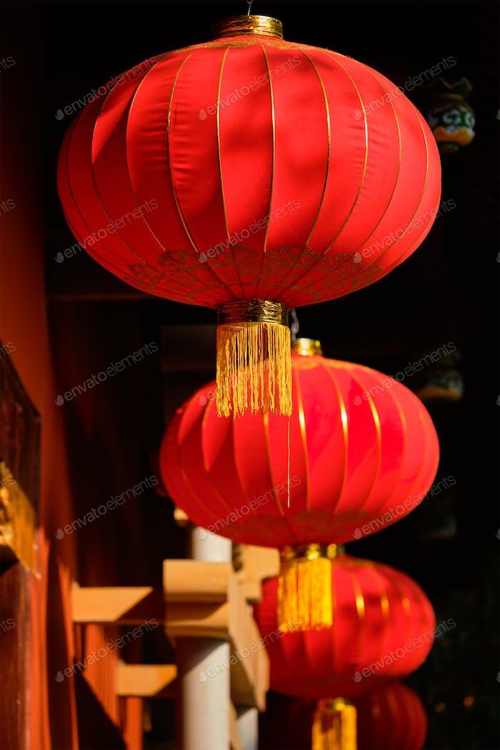 Chinese traditional lanterns