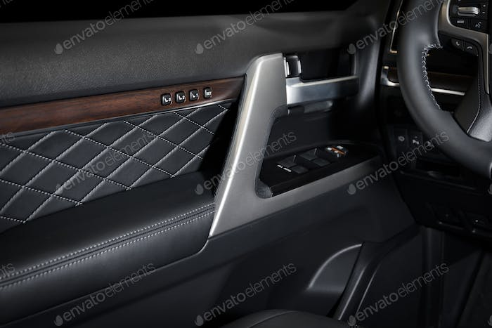 Door panel car interior