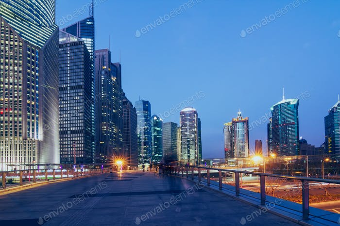 Panorama von Shanghai