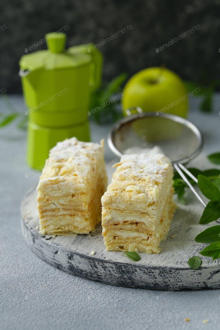 Dessert Cake Napoleon