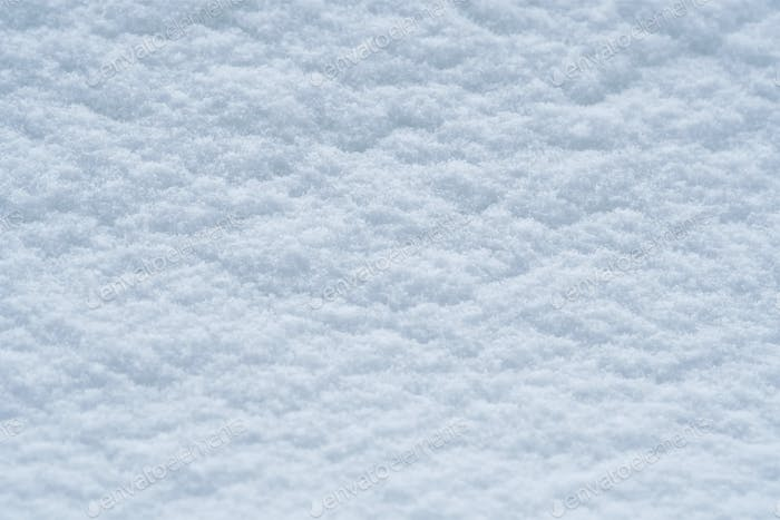 Background of snow texture in blue tone
