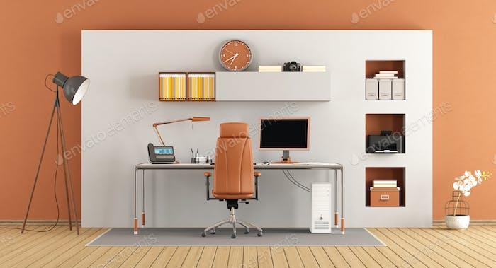 Modern small office