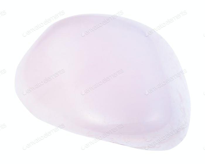 tumbled pink Petalite (castorite) stone