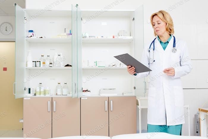 At pharmacy