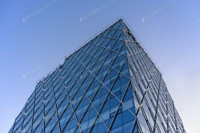 Details of skyscraper in Tallinn