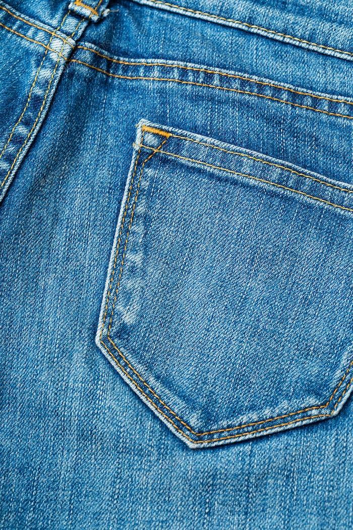 Jeanstasche hinten