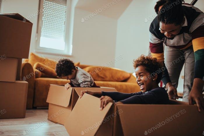 Moving can be fun