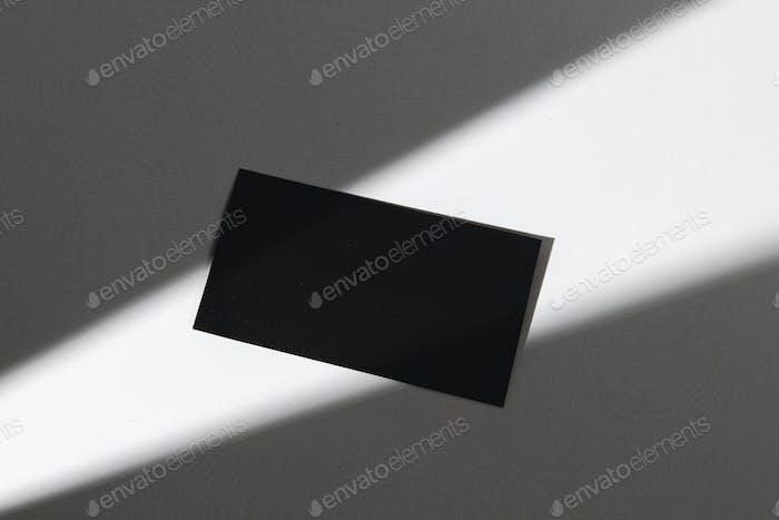 Foto oscura de la Plantilla de identidad empresarial