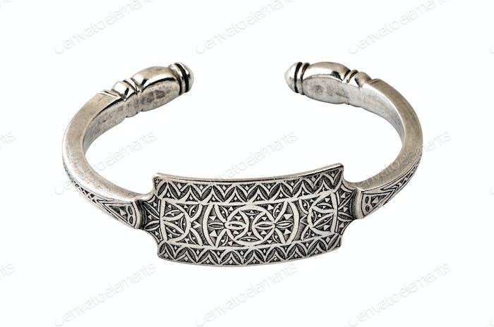 Handmade bracelet in silver