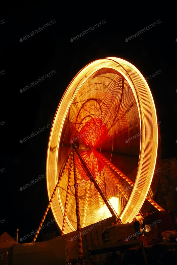 Big wheel at night