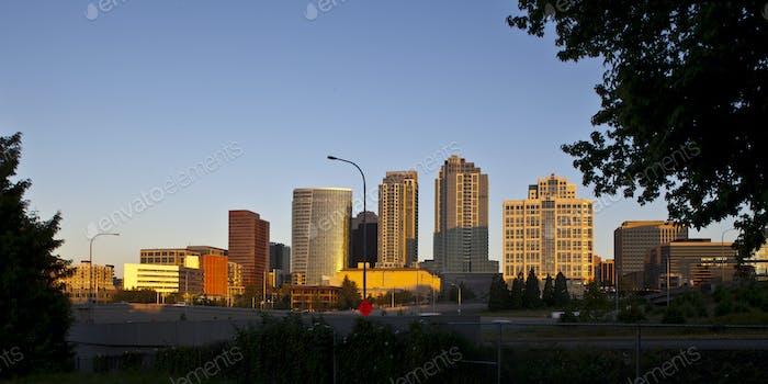 45418,Urban Skyline in Bellevue