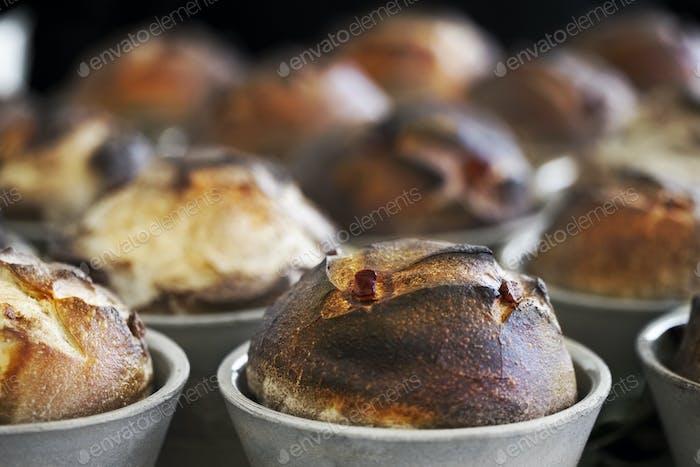 Small rustic breads
