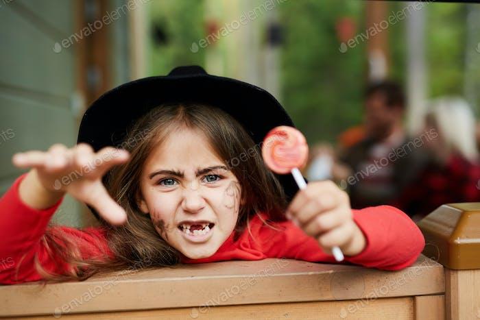 Забавная ведьма