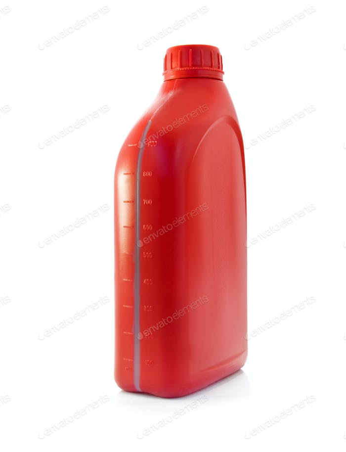 lubricating oil bottle