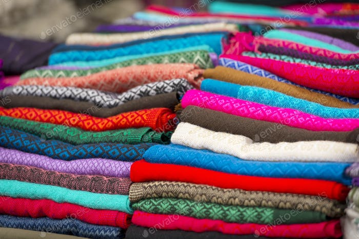 Colorful Material In Mexico Market