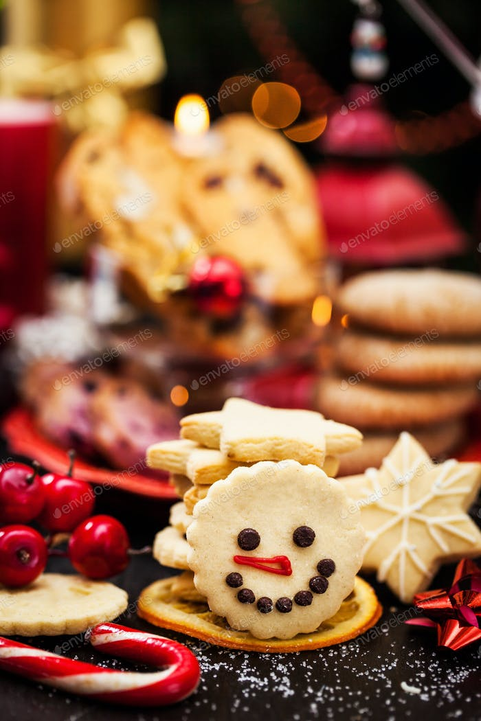 Holiday Christmas cookies