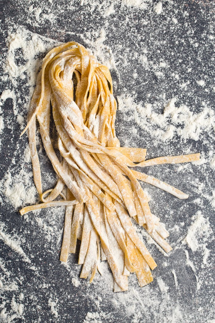 fresh homemade pasta