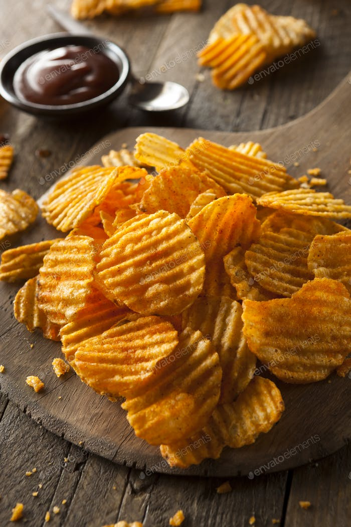 Hot Barbeque Kartoffelchips