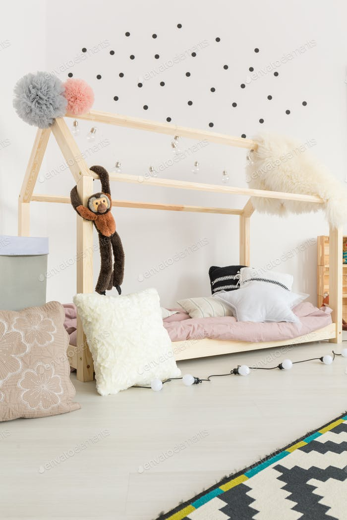 Baby room with pastel decor