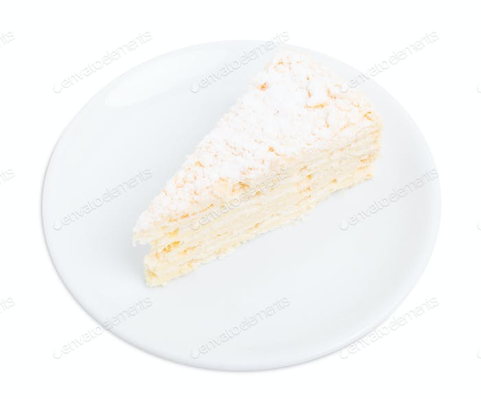 Russian Napoleon cake.
